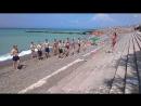 Флешмоб на пляже Кенси-кенло