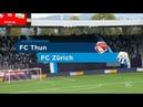 FC Thun - FC Zürich 2:2 - 10.Spieltag 07.10.2018 (Ohne Kommentar)