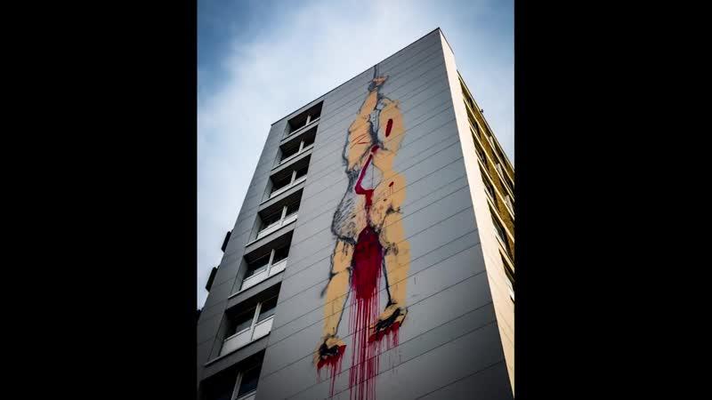 Brüssel Graffiti Teil 2 _ Ritualmorde