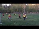 Football match Russian vs foreign students - Академгородок