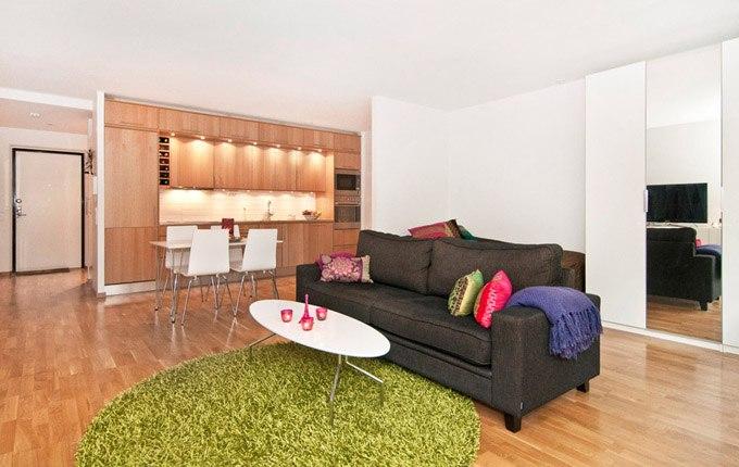 Квартира-студия 48 м с патио в Женеве / Швейцария - http://kvartirastudio.