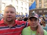 П'яні викладачі - протестувальники під КМДА