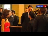 Colleja de Ibrahimovic a Xavi Hernandez en la Gala de la FIFA Balón de Oro 2013 | 13-01-2014