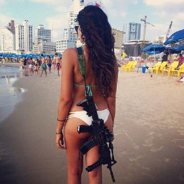 Красотки-военнослужащие Израиля: