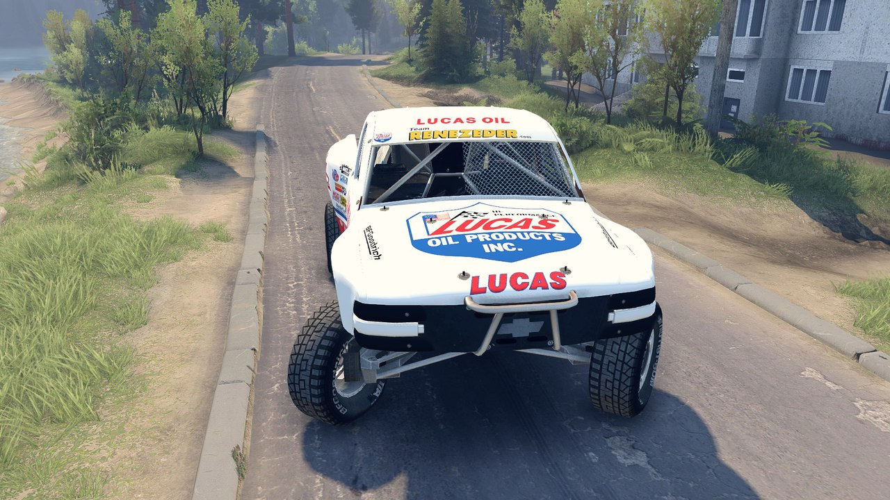 Chevrolet Silverado Baja для 22.07.15 BETA для Spintires - Скриншот 1