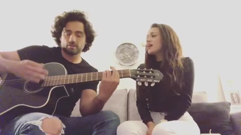 Кавер Пабло (Блас в МД) и Mayra Goñi на песню seradedios rebeldesporsiempre rebeldeway 3