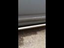 Установка порогов с другой машины