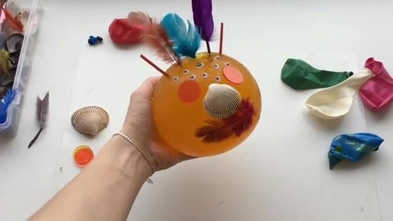 Желатиновый шар своими руками