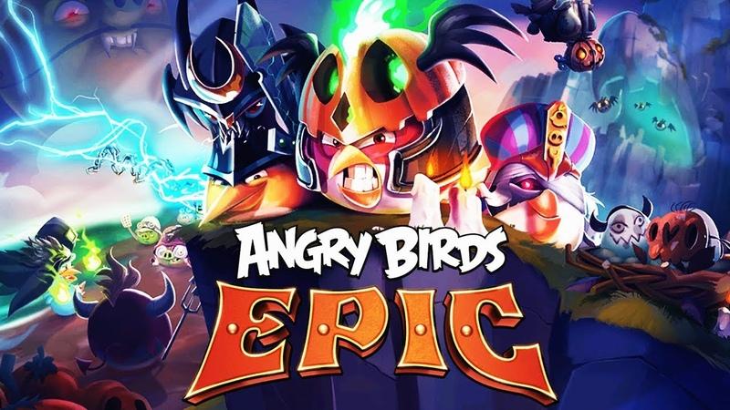 ЗЛЫЕ ПТИЧКИ ЭНГРИ БЕРДС! КУПИЛ НОВУЮ ШЛЯПУ ДЛЯ БОМБА и ОСВОБОДИЛ ЯЙЦО Мульт игра Angry Birds Epic