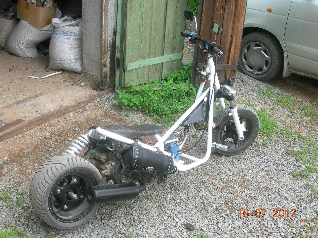 Зброя на PixMy: кастом скутер 50 см куб продам в
