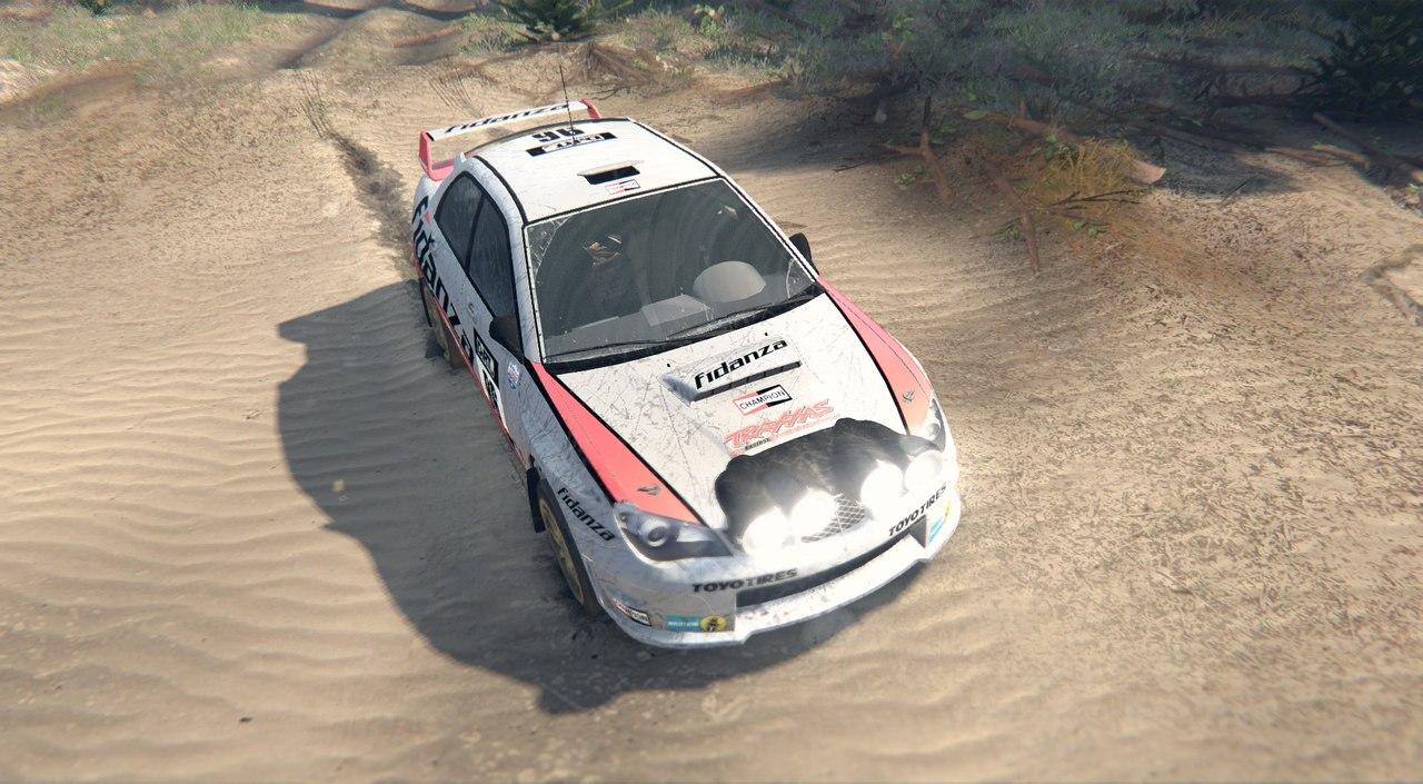 Subaru Impreza WRX для Spintires - Скриншот 3