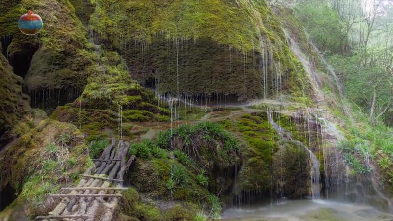 Водопад Мамрот Кар (Известный как Ованоц или Зонтик) Армения Левонгид Арцах Карабах отдых туры путешествие хочувармению