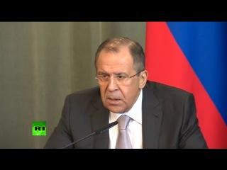 Пресс-конференция Сергея Лаврова и главы МИД Абхазии