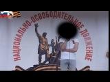 Участник боевых действий Донбасса на митинге НОД. 12.06.2014.