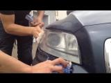 Восстановление фар Volvo XC70 за 5 минут без полировки