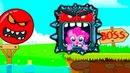 Новый Несносный КРАСНЫЙ ШАР 2 Мультик ИГРА New Red Ball спасаем Май Литл Пони