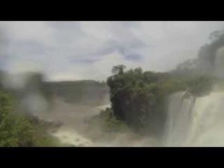 До водопада рукой дотянуться. Водопады Игуасу. Аргентина. Южная Америка. GoPro Hero3 Black Edition