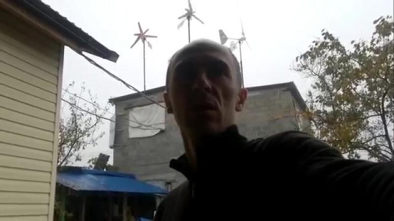 Ветрогенератор Bekar 1000_работа на ветре 4-6 м_с