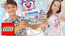 Страна девчонок • ЛЕРА и ЛЕГО сборка набора LEGO ЮНИКИТТИ!