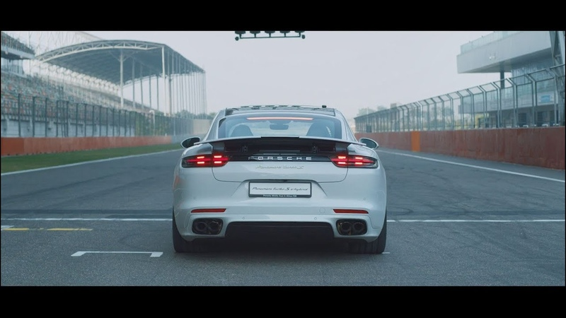 Porsche Panamera Turbo S E-Hybrid. 6 трасс, 6 рекордов.