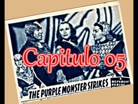 MARTE INVADE A TERRA CP05 Morte no Raio LEGENDADO THE PURPLE MONSTER STRIKES (1945)