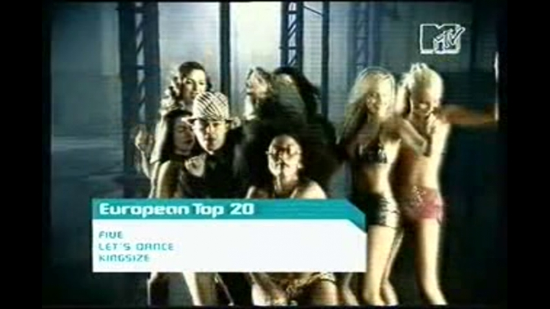 5ive let's dance mtv
