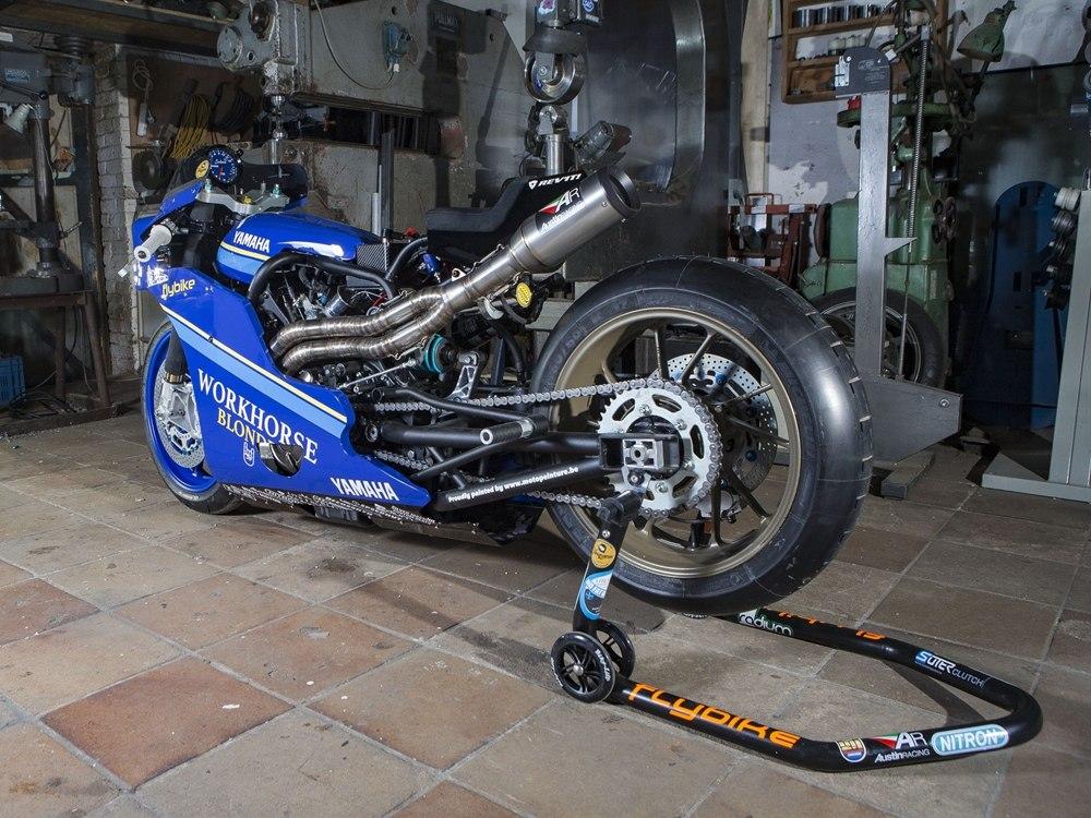 Workhorse Speed Shop: гоночный Yamaha XSR700 Sakura
