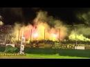 Recibimiento de la hinchada de Peñarol - Cobreloa