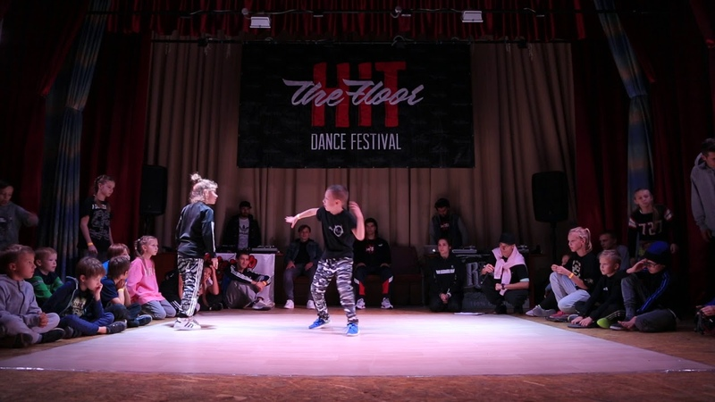 Hit The Floor vol.4 hip-hop kids 14 Beseda(win) vs Duracell
