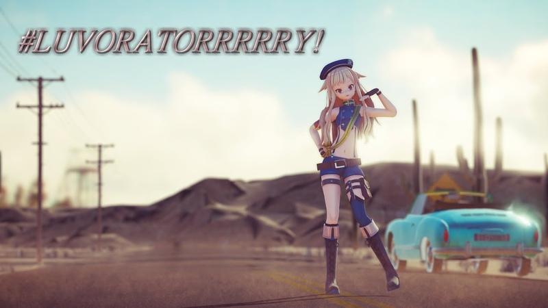 【ヒメヒナMMD】 LUVORATORRRRRY! feat. 鈴木ヒナ