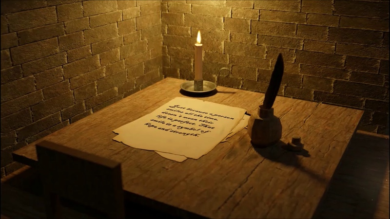 Medieval Scribes Chamber📜 - ASMR Ambience