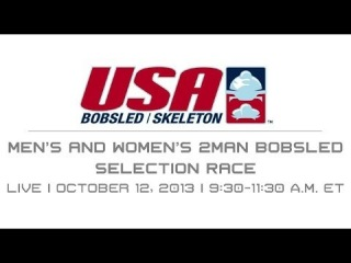 Men's and Women's two-man Bobsled Selection Race