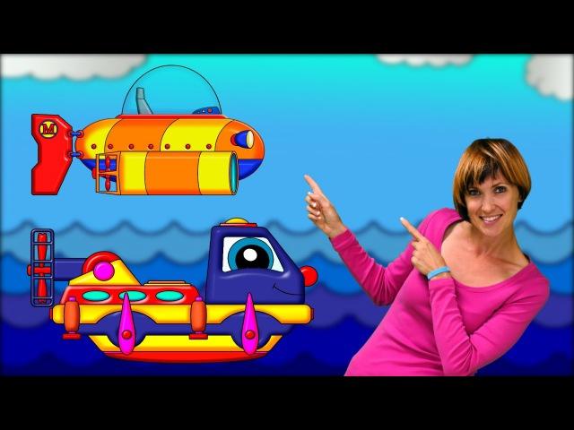 Maria et Poma : le bathyscaphe cassé. Dessin animé pour les enfants