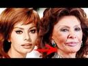 Sophia Loren Change from childhood to 2018
