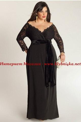 Вечерние платья больших размеров