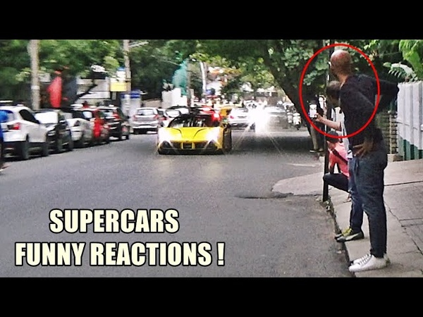 MY FRIEND REACTS TO LOUD CARS | SUPERCARS INDIA | August 2018 Part 2