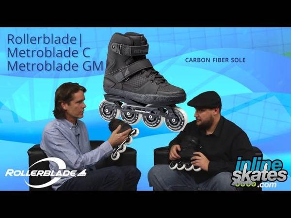 2017 Rollerblade Metroblade Series Inline Skate Overview by InlineSkatesDotCom