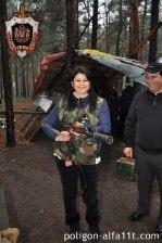 Лазерные бои в Киеве