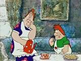 Малыш и Карлсон популярный советский рисованный мультфильм.