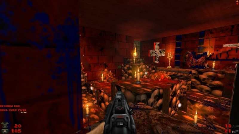 2002 A Doom Odyssey   E2M7: Puzzles to Solve [Brutal Doom: Black Edition v3.1d] » Freewka.com - Смотреть онлайн в хорощем качестве