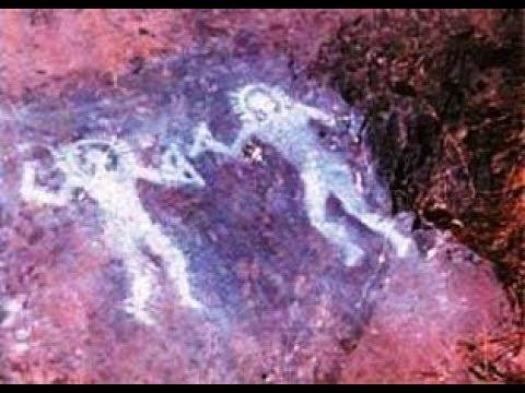Групповой портрет инопланетян вместе с НЛО возрастом 10000 лет из древней пещеры изумил научный мир