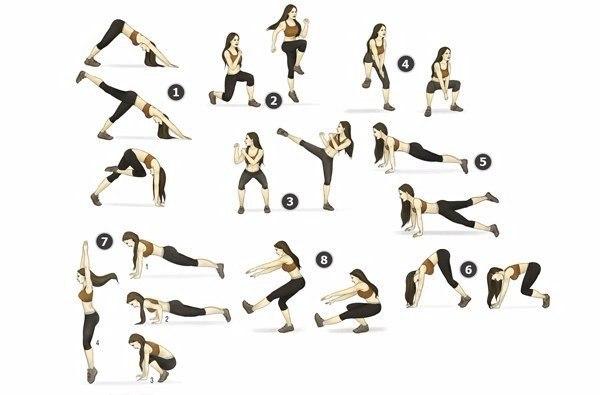 Комплекс упражнений для стройных ног (1 фото)