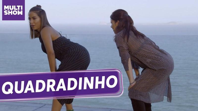 Anitta deu uma AULA DE QUADRADINHO pra Fernanda Souza!   ESQUENTA Vai, Fernandinha   Humor Multishow