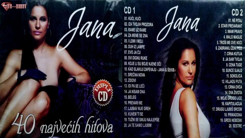 Jana Todorovic - 40 Najvecih Hitova (2015)