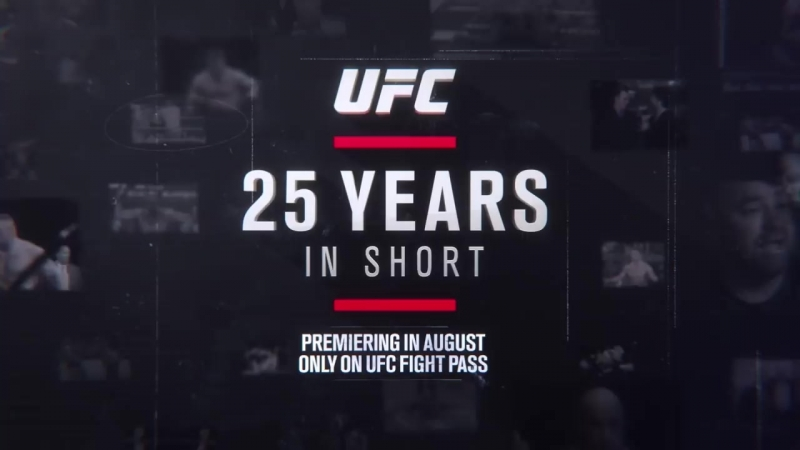 UFC 25 Years in Short – Official Trailer wickedone.ru