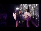 Леди Гага снимает лирик-видео Applause в гей-клубе Micky's, Восточный Голливуд (12.09.2013)