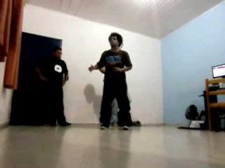 Feboogz - Andre Bidu - Frank Ejara - Practicing
