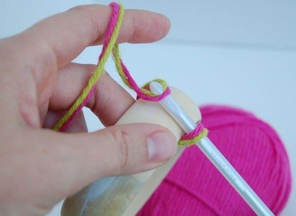 Что можно сделать из ниток для вязания без крючка и спиц 44