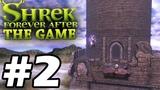 Прохождение Шрек Навсегда Forever After - Часть 2 - Логово дракона.