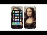 Виниловые наклейки на телефоны iPhone 3g. Стильные защитные пленки на корпус